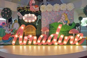 Addie's Alice in Wonderland Themed Party – 1st Birthday