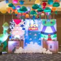 toy story theme party photowall stage