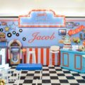 50's diner party stage