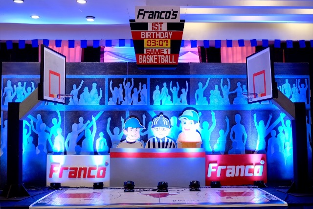Franco S Basketball Themed Party 1st Birthday Party