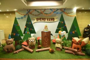 Hang Hang's Party in the Woods Themed Party – 1st Birthday