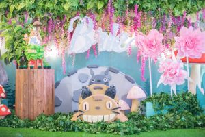 Brie's My Neighbor Totoro Themed Party -1st Birthday