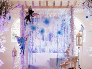 Regina and Lauren's Winter Fairy Themed Party