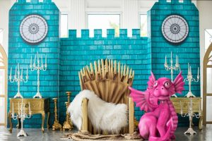 Victoria Daenerys' Game of Thrones Themed Party – 1st Birthday