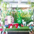 snow white theme party stage