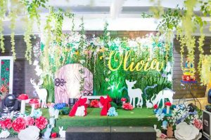 Olivia's Snow White and the Enchanted Forest Theme Party – 1st Birthday