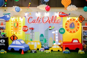Cali's Charming Transportation Themed Party – 1st Birthday