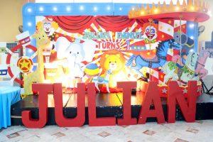 Julian's County Fair Themed Party – 1st Birthday