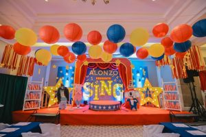 Alonzo's Sing Themed Party – 1st Birthday