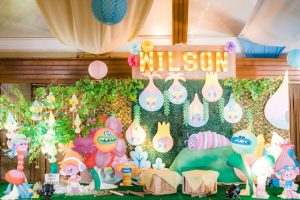Wilson's Trolls Themed Party – 1st Birthday