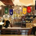 harry potter party stage