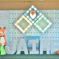 Geometric Fox Theme Party