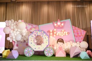 Nala's Gorgeous Geometric Princess Themed Party – 1st Birthday
