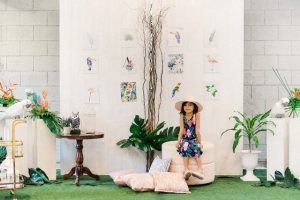 Artyst's Tropical Aviary Themed Party – 7th Birthday