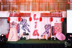 Lia's Ninja Themed Party – 7th Birthday