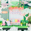 Peppa Pig party stage