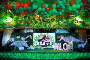 Milo's Jurassic Park Themed Party – 1st Birthday