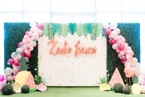 Zadie's Dainty Flamingo Themed Party – 1st Birthday
