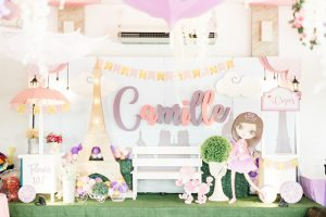 Camille's 'A day in Paris' Themed Party – 7th Birthday