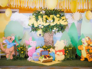 Maddie's Winnie the Pooh Themed Party – 1st Birthday