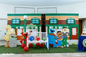Cal's Sesame Street Themed Party – 1st Birthday