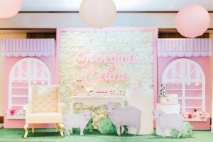 Georgina's Dainty Lamb Themed Baptismal Celebration