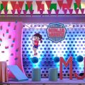 Girly American Nina Warrior Party Stage
