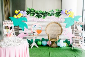 Lauren Hope's Tropical Flamingo Themed Party – 1st Birthday