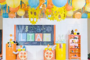 Liam's Mad Science Themed Party – 1st Birthday