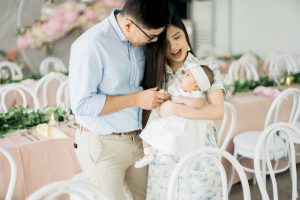 Chloe's 'An Ode to Spring' Inspired Baptismal Celebration