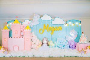 Megan's Magical Unicorn and Princess Theme Party – 1st Birthday