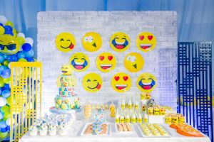 Adam's Emoji-fied Themed Party – 1st Birthday