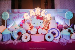Carla's Hello Kitty in Candyland Themed Party – 1st Birthday