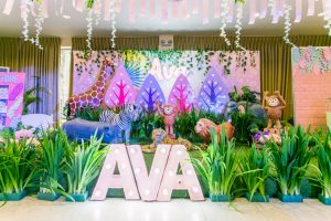 Ava's Charming Jungle Safari Themed Party – 1st Birthday