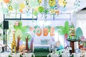Kobe's Baby Safari Themed Party – 1st Birthday