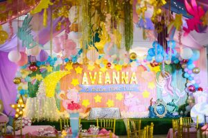 Avianna's Dreamland Themed Party – 1st Birthday