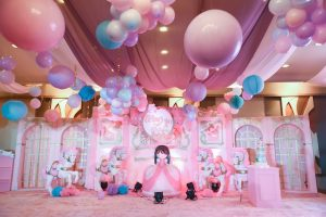 Tiffany's Grand Carousel Themed Party – 1st Birthday