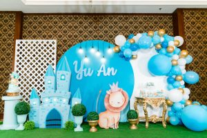 Yu An's Baby Prince Themed Baptismal and Korean Baek-il (100th Day Celebration)