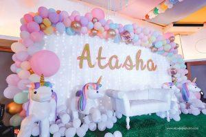 Atasha's Whimsical Unicorns and Rainbow Themed Party – 7th Birthday