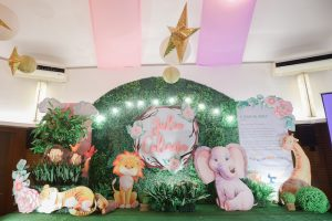 "Julia's ""My Great Big God"" Inspired Party – 1st Birthday"