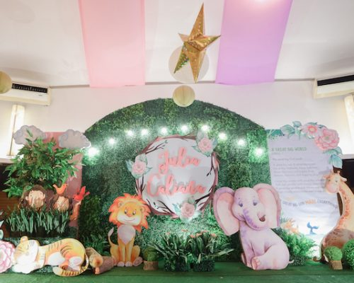 """Julia's """"My Great Big God"""" Inspired Party – 1st Birthday"""