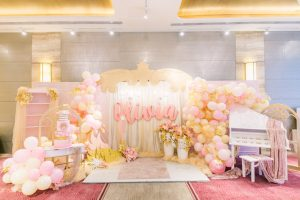 Olivia's Swan Princess Themed Party – 1st Birthday