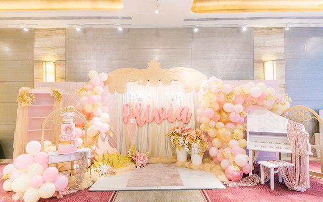 Olivia's Swan Princess Themed Party – 1st Birthday