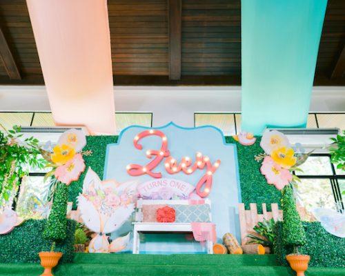 Zoey's Chic Boho Fox Themed Party – 1st Birthday