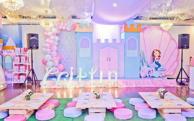 Caitlin's Under the Sea Themed Party – 7th Birthday
