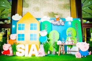 Sia's Picnic Fun with Peppa Pig Themed Party – 1st Birthday