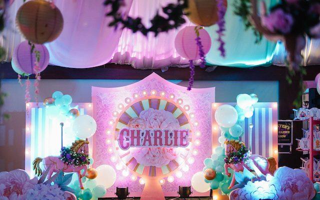 Charlie's Floral Carnival Birthday Fete – 1st Birthday
