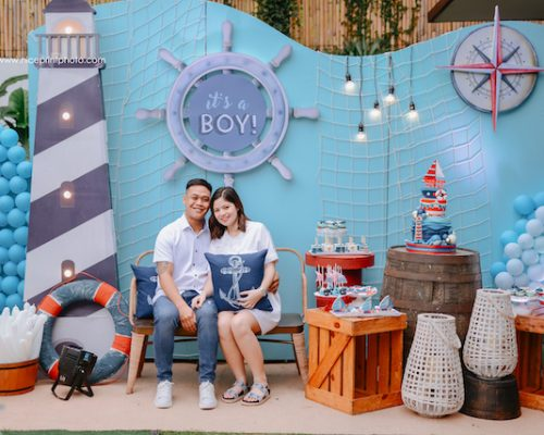 Thalia Alonzo's Nautical Themed Baby Shower