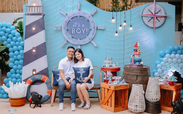 Thalia Alonzo's Nautical Themed Baby Shower