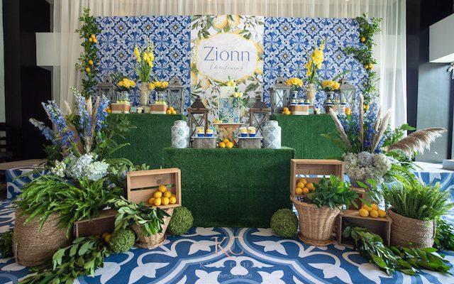 Zionn's Fun and Zesty Lemon Theme Party – Christening